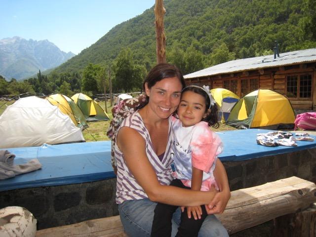 Elisa Achibueno camping