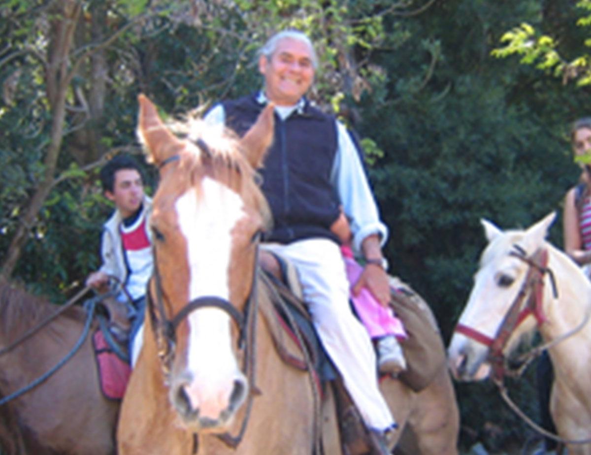 Jorge Sepúlveda riding horses