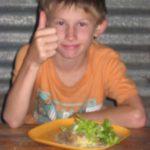 Luke_thumbsup_food
